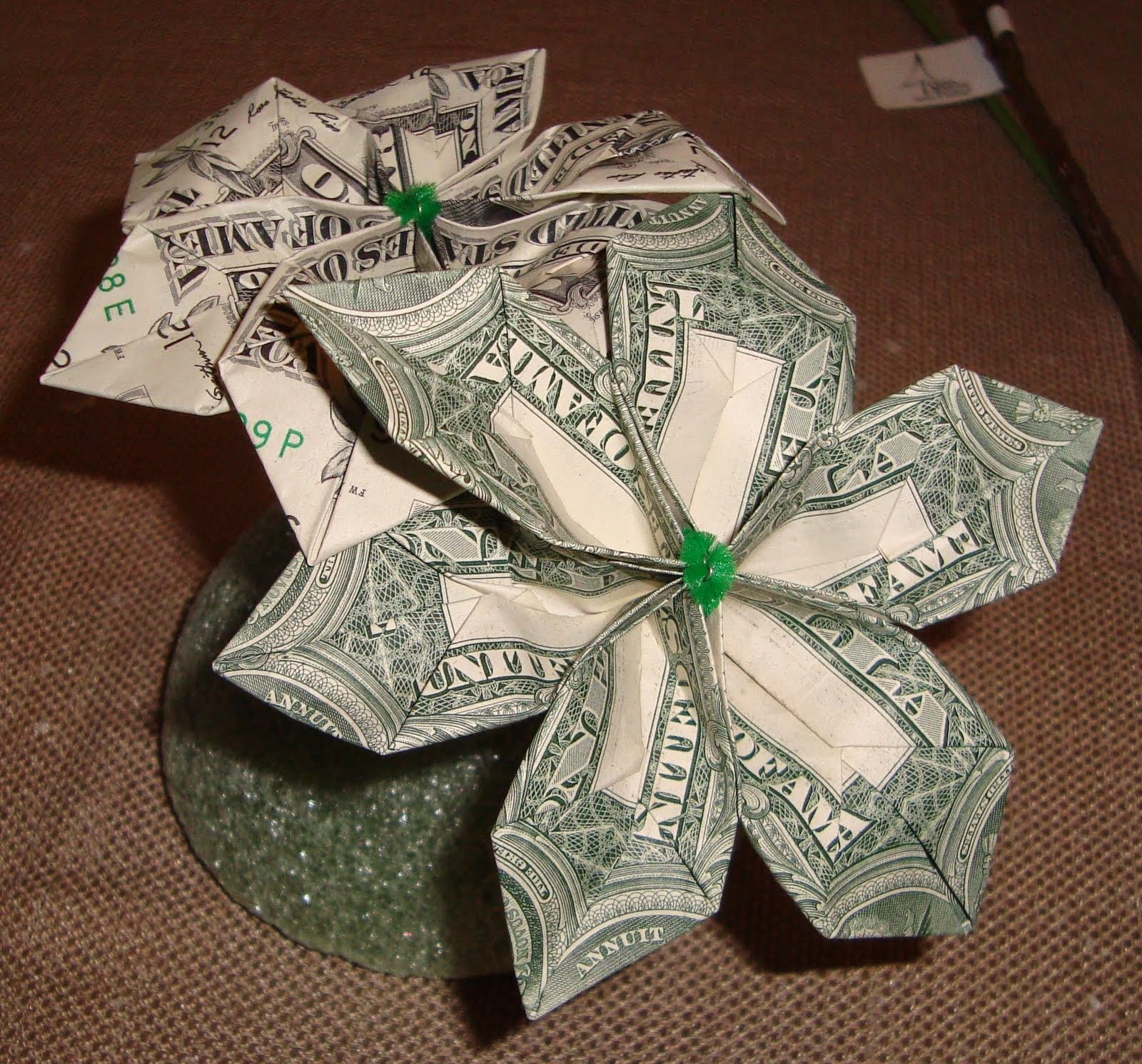 Making a money tree instructions