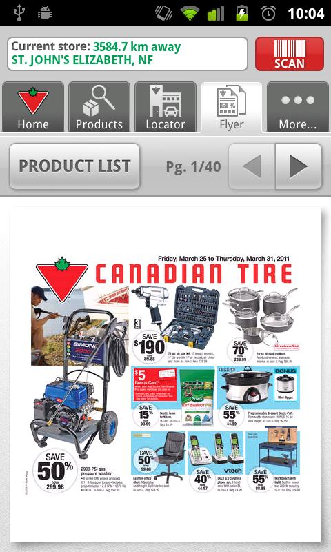Canadian tire application guide epatant