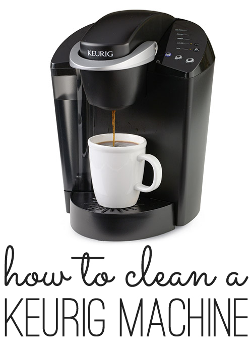 keurig single cup coffee maker cleaning instructions