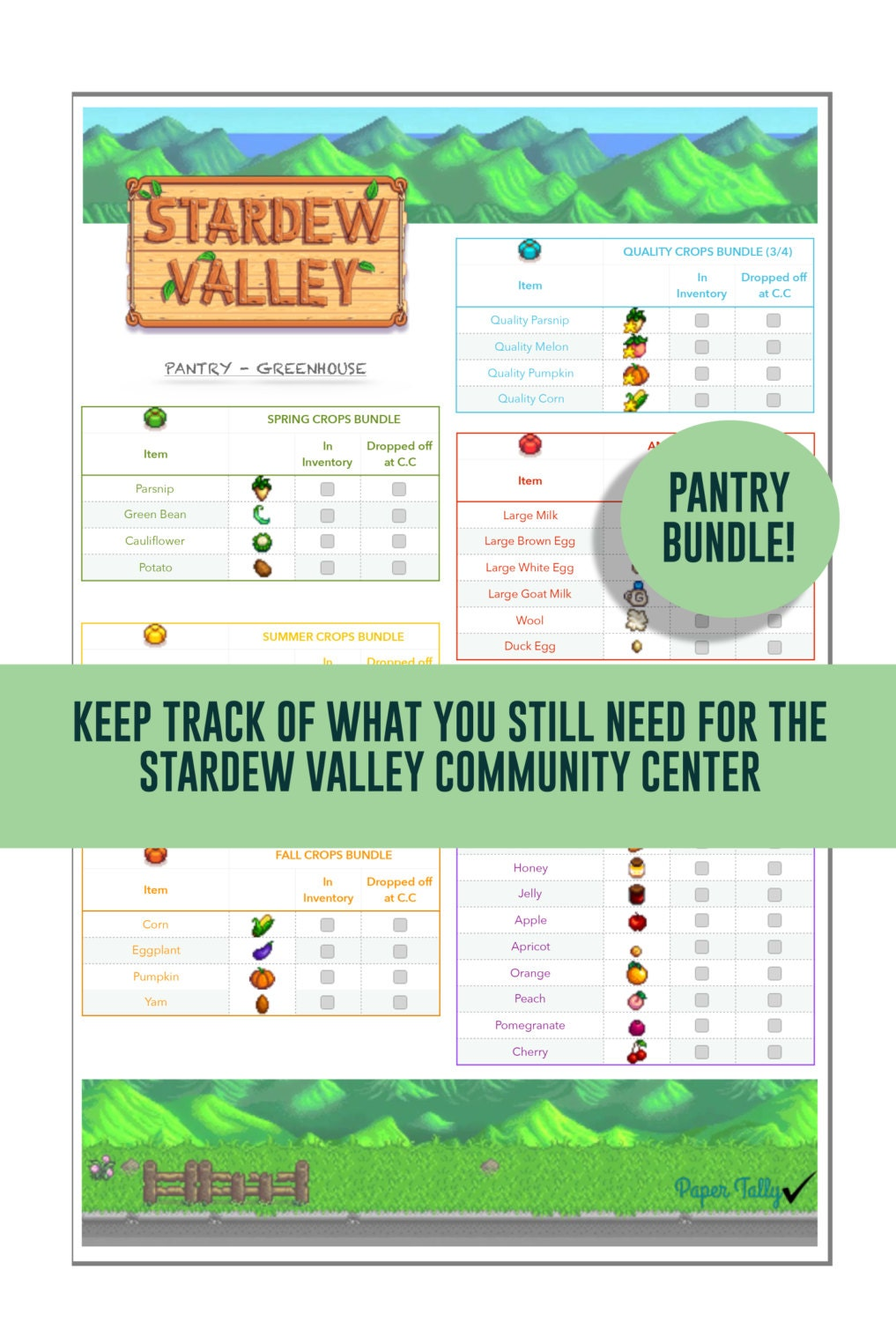 Pdf of stardew valley guide