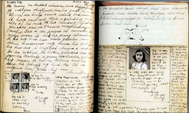 Anne frank diary extract pdf