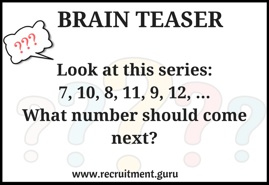 Brain teaser questions and answers pdf