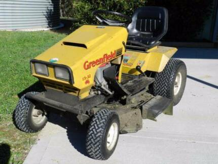free greenfield ride on mower manual