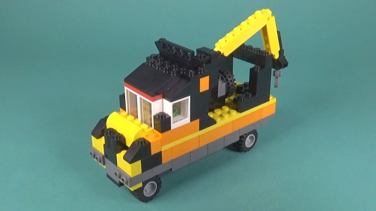 Lego tow truck instructions