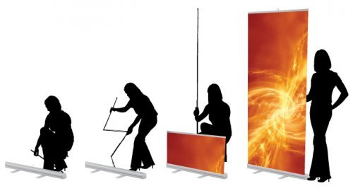 pop up banner stand instructions