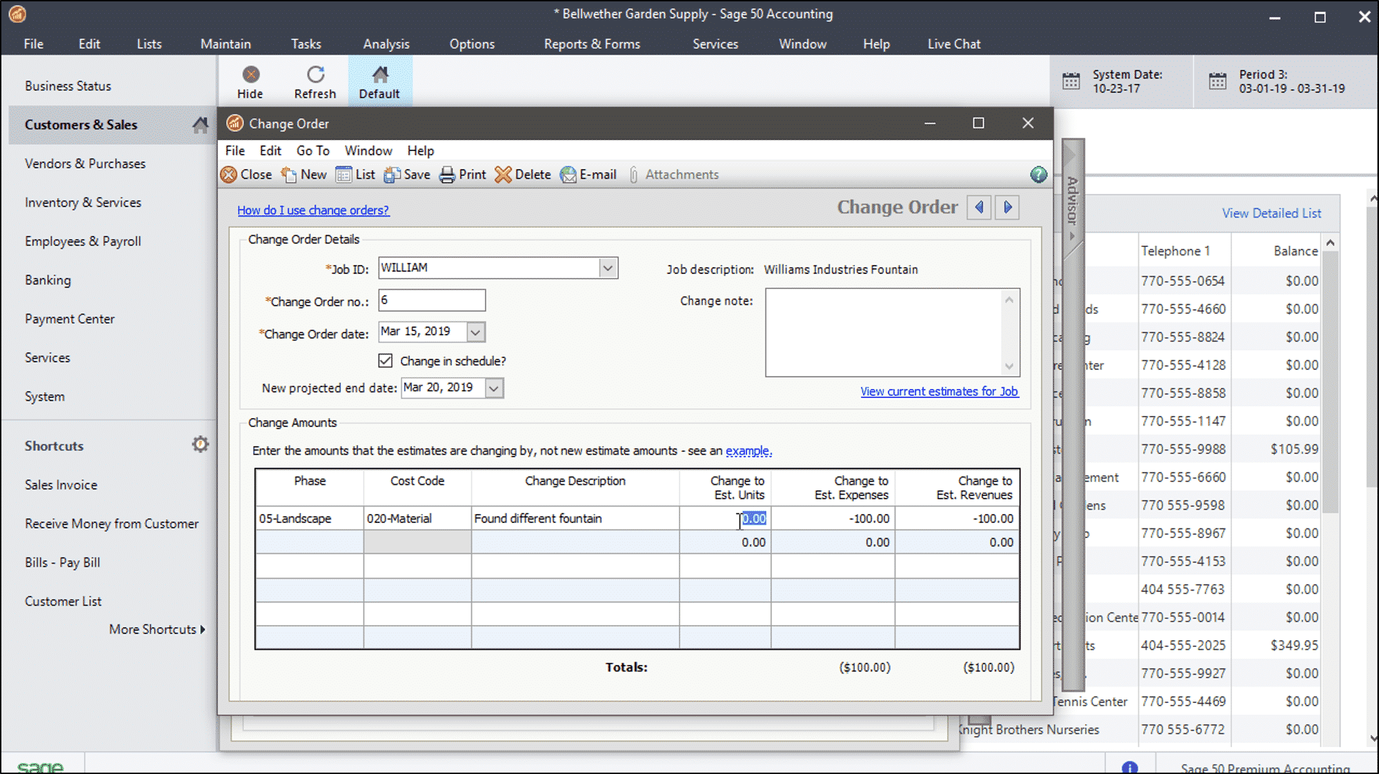 Sage 50 how to change filename of a form