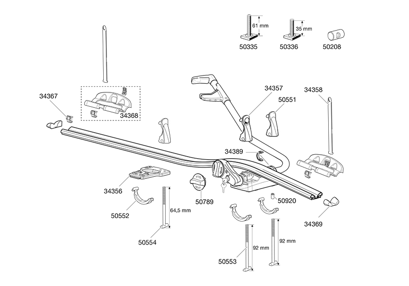 thule 591 fitting instructions pdf
